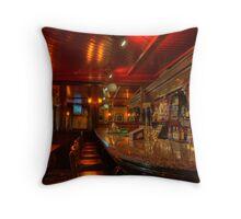Tynans Bridge House Bar Interior  - Old Pub in Kilkenny City (4) Throw Pillow