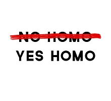 yes homo by thegreatqueen