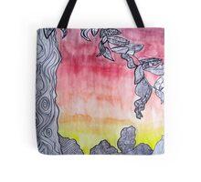 Watermark Sunset Tote Bag