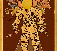 Vintage Spaceman by Hutzon