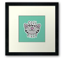 Little Ball of Fur Framed Print