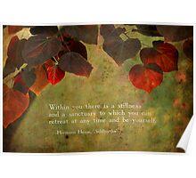Stillness Within Poster