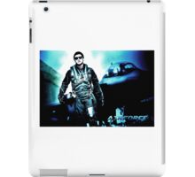 Fighter Pilot and Jet iPad Case/Skin