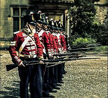 Holding the thin red line by Tim Constable