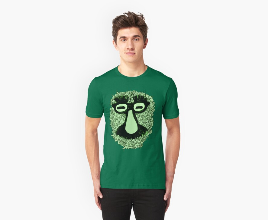 groucho marx snails by cintrao