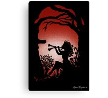 Dusk Awakens Darkness Canvas Print