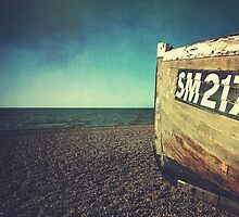 Weathered Boat by Matthew Hollinshead