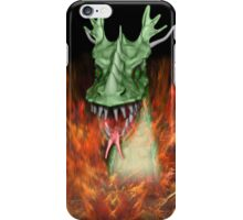 Green Dragon Head iPhone Case/Skin