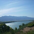 Hyrum Dam from a distance by gentleone