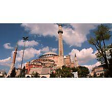 Hagia Sophia, Istanbul, Turkey Photographic Print