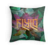 Flying Lotus Flower Throw Pillow