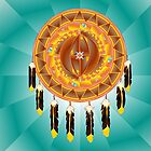 Cheyenne symbol of universe shield by hdimensions