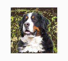 Bernese mountain dog portrait Unisex T-Shirt