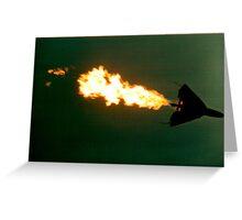 f111 jet  Greeting Card