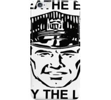 Breathe Easy Obey the Law! iPhone Case/Skin