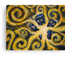When the Pandorica Opens Canvas Print
