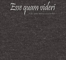 Esse quam videri 'To be, rather than to seem (to be)' - version 3 Zipped Hoodie