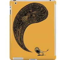 Heart of a Lion iPad Case/Skin