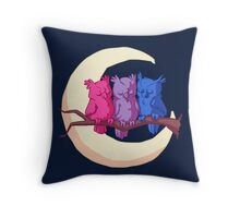 Bisexuowls Throw Pillow