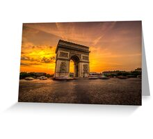 Arc De Triomphe 2 Greeting Card