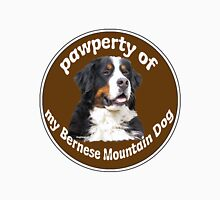Pawperty of my Bernese Mountain Dog Unisex T-Shirt