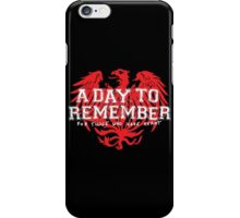 A Day To Remember - For Those Who Have Heart II iPhone Case/Skin