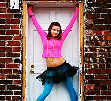 Jammed Door by Maureen  Geraghty