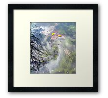 March winds Framed Print