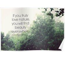 Van Gogh Nature Poster