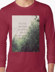 Van Gogh Nature Long Sleeve T-Shirt