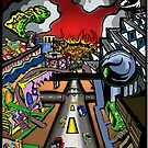 Futuristic City by depressedkat