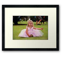 Wedding Girl Framed Print