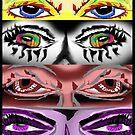 Eye Collage 1 by depressedkat