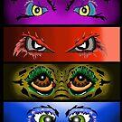 Eye Collage 3 by depressedkat