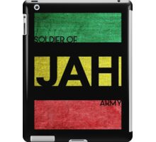 Soldier of JAH Army iPad Case/Skin