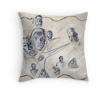 Portrait of Love Throw Pillow