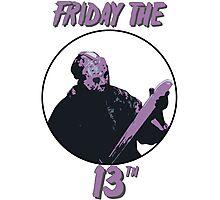 Jason Friday The 13th Photographic Print