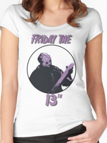 Jason Friday The 13th Women's Fitted Scoop T-Shirt