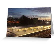 twilight express... Greeting Card