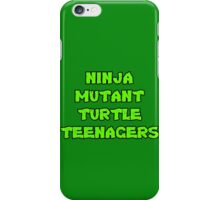 Ninja Mutant Turtle Teenagers iPhone Case/Skin