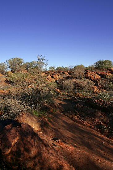 West MacDonnell Ranges by Rosina  Lamberti