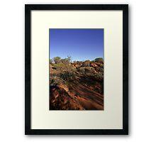 West MacDonnell Ranges Framed Print
