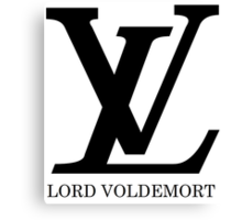 LV Lord Voldemort Canvas Print