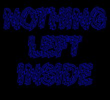 Nothing left inside by sassandclass