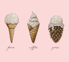 Ice-Cream Cones One Piece - Short Sleeve