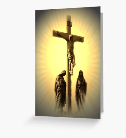 Women At The Cross Greeting Card