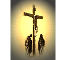 Women At The Cross Photographic Print