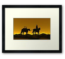 Heading Home Framed Print