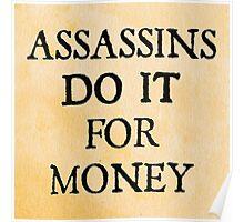 d20 Scoundrels: Assassins Do It For Money Poster