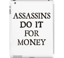 d20 Scoundrels: Assassins Do It For Money iPad Case/Skin